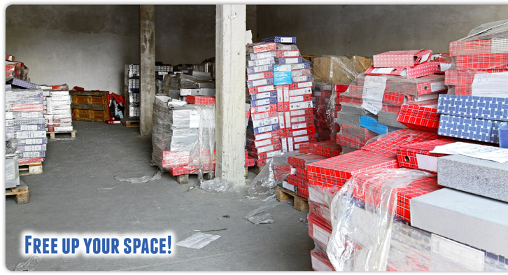 Free up space in your school or warehouses