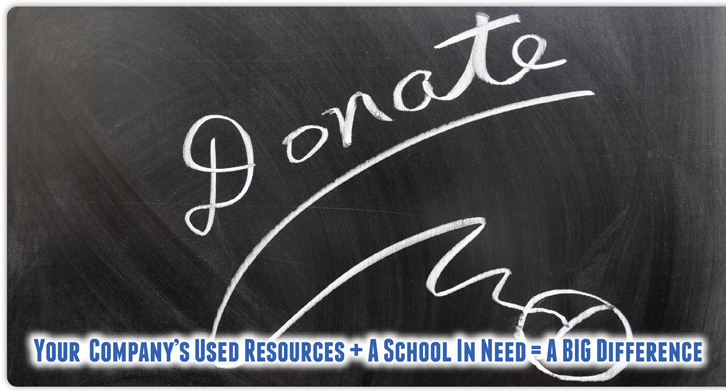 Your Company Resource Plus A School In Need = A Big Difference